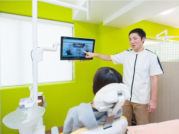 患者様とのコミュニケーションを大切にする治療
